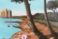 bouée geante rose site